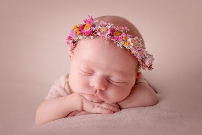 gesicht-baby-blumen